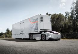 Volvo Trucks представляет будущее транспортное решение на основе автономных электромобилей